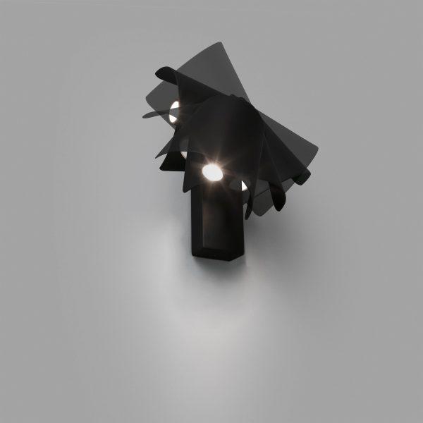 Faro Barcelona, Sieninis šviestuvas LE PETIT LED Juodas