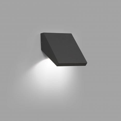 Faro Barcelona, Exterior wall light GUIZA LED Dark Grey