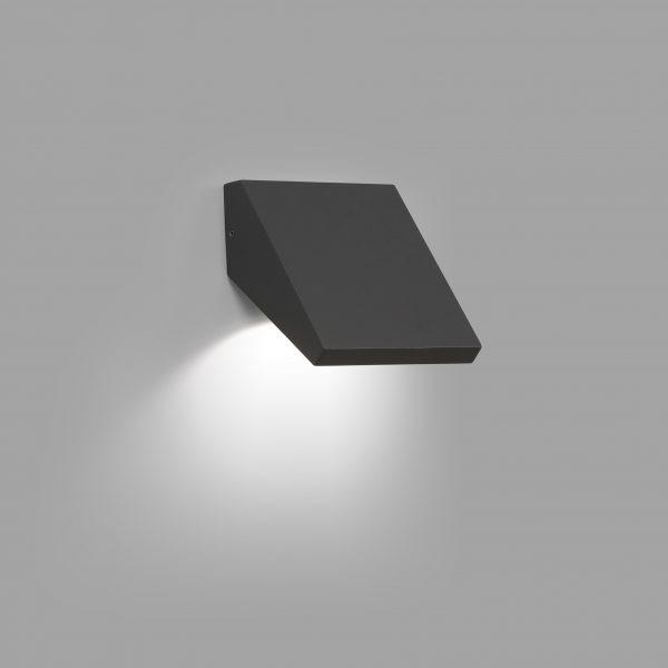 Faro Barcelona, Sieninis lauko šviestuvas GUIZA LED Dark grey