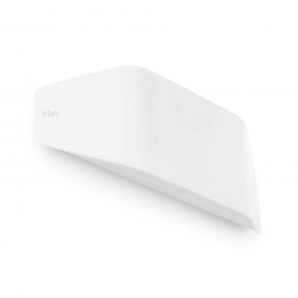 Faro Barcelona, Exterior wall light FUTURE White