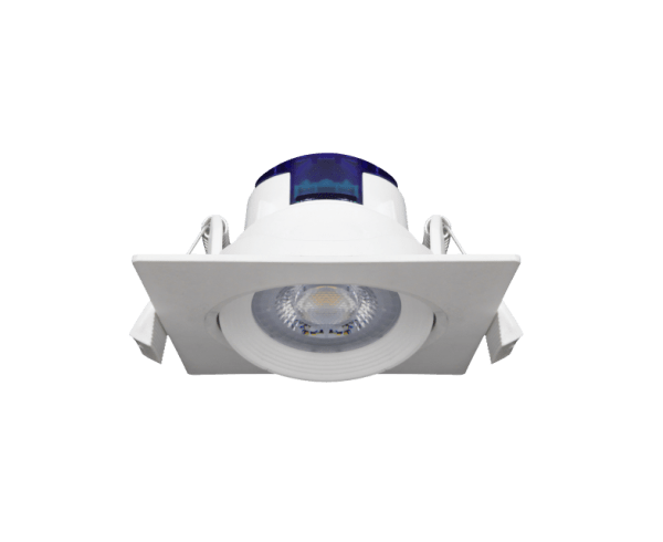 Bedroom lighting, Directional recessed light NAHE SQ 3000K