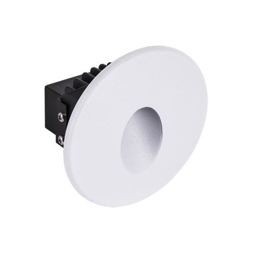 Ideus, Sieninis įleidžiamas šviestuvas AZYL LED C 1,6W WHITE 4000K