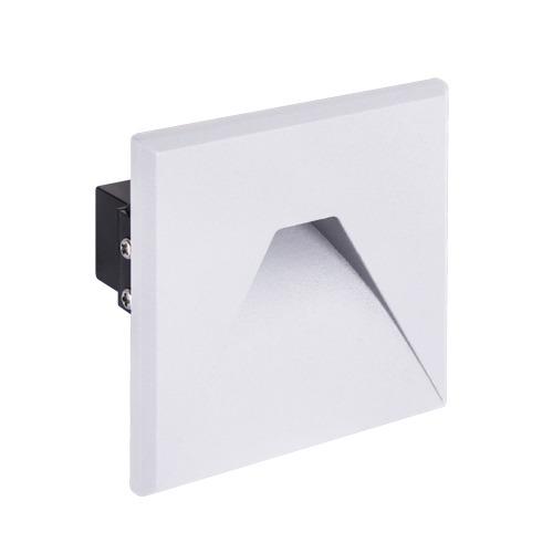 Corridor lighting, Recessed wall light KURS LED D 1.6W WHITE 4000K