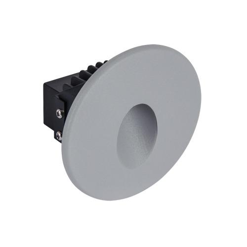 Ideus, Sieninis įleidžiamas šviestuvas AZYL LED C 1,6W GREY 4000K