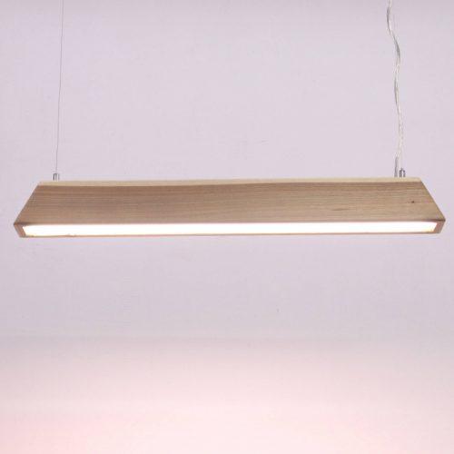 Mediniai šviestuvai, Pakabinamas medinis šviestuvas SKYLINE 100cm