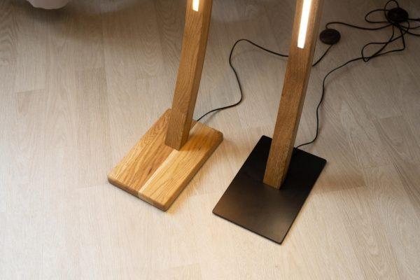 Pastatomi šviestuvai, Pastatomas medinis šviestuvas VENERA