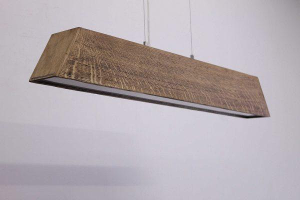 Pakabinami šviestuvai, Pakabinamas medinis šviestuvas SKYLINE 100cm