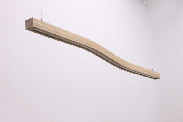 Pakabinami šviestuvai, Pakabinamas medinis šviestuvas WAVE 120