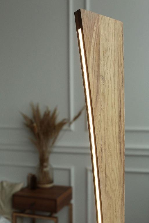 Pastatomi šviestuvai, Pastatomas medinis šviestuvas MERCURY