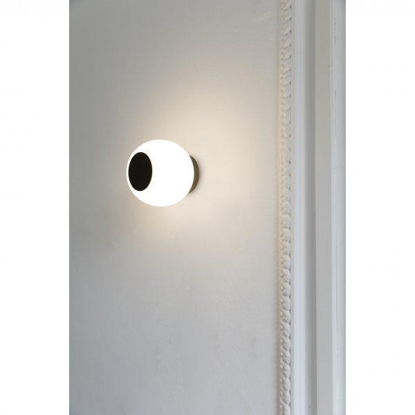 Faro Barcelona, Sieninis/lubinis šviestuvas MOY LED Bronze
