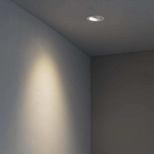 Biurų apšvietimas, Įleidžiamas kryptinis šviestuvas ARGON-R White