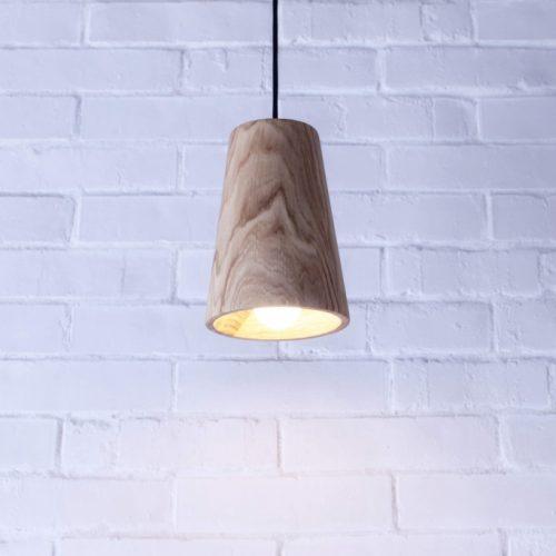 Mediniai šviestuvai, Pakabinamas medinis šviestuvas Spot XL