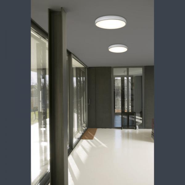 Faro Barcelona, COCOTTE LED Juodas arba Baltas lubinis šviestuvas 30W 64251
