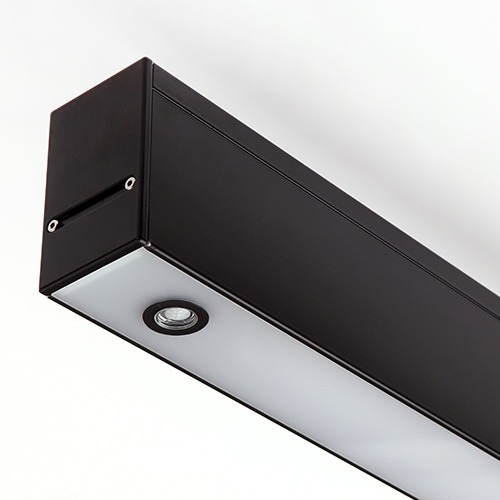 Biurų apšvietimas, Šviestuvas DES BLACK 120cm