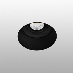 Berėmiai užglaistomi šviestuvai, Įleidžiamas priglaistomas šviestuvas FRESH Black