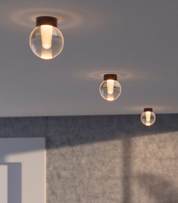Koridoriaus apšvietimas, Lubinis šviestuvas ALASKA TRIMLESS