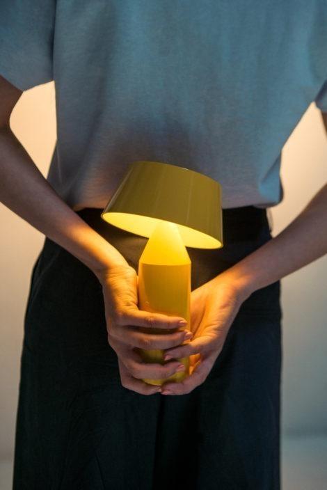 LED šviestuvai, Bicoca nešiojamas pastatomas šviestuvas