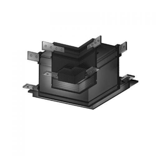 Magnetinės apšvietimo sistemos, INSIGHT CORNER 1 užglaistomas kampinis sujungimas, juodas