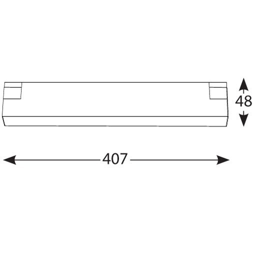 Magnetinės apšvietimo sistemos, INSIGHT PLX šviestuvas į 48V bėgelių sistemą, 11W, 3000K, juodas