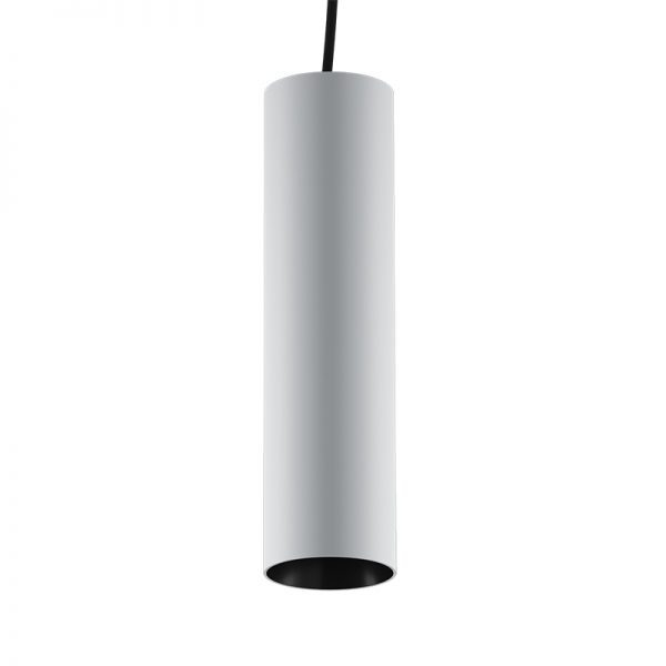 Montuojami į bėgėlį šviestuvai, INSIGHT TUBE šviestuvas į 48V bėgelių sistemą, 19W, 3000K, 30°, juoda/balta