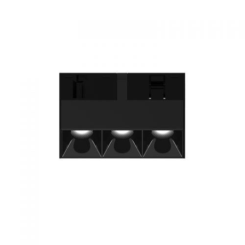 Magnetinės apšvietimo sistemos, INSIGHT DARK LIGHT šviestuvas į 48V bėgelių sistemą, 5W, 3000K, 35°, juodas