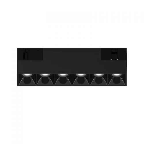 Magnetinės apšvietimo sistemos, INSIGHT DARK LIGHT šviestuvas į 48V bėgelių sistemą, 9W, 3000K, 35°, juodas