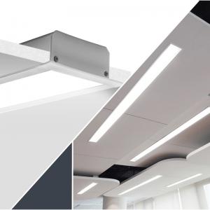 Recessed LED profiles