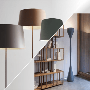 Mobile lamps and Floor stands