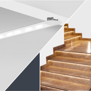 Profiles for stairway lighting