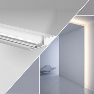 Profiles for niche lighting