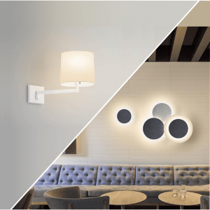 Wall surface lights