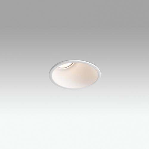 Biurų apšvietimas, Įleidžiamas šviestuvas FRESH wall washer WHITE 02100601
