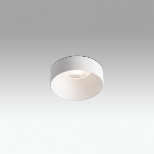 Faro Barcelona, Įleidžiamas šviestuvas BOW WHITE 18W LED 2700K 36° 1575lm Ø80MM 02150301