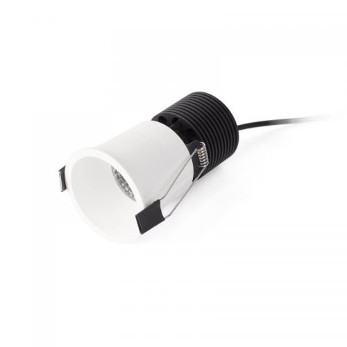 Faro Barcelona, Įleidžiamas šviestuvas FOX White recessed 10W 2700K 02101601