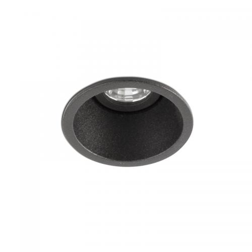 Faro Barcelona, Įleidžiamas šviestuvas FOX black orientable recessed lamp 2700K spotlight 5W 02101302