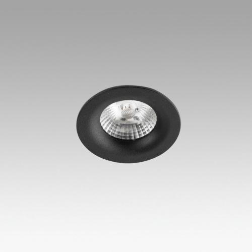 Faro Barcelona, Įleidžiamas šviestuvas NAIS Black recessed 7W 2700K 625lm 02121002