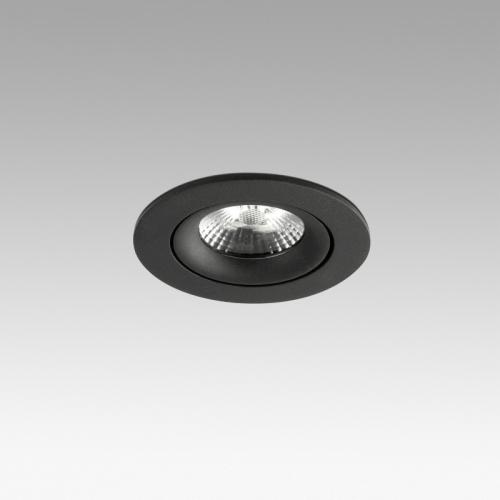 Faro Barcelona, Įleidžiamas šviestuvas NAIS Black orientable recessed 7W 2700K 625lm 02111002
