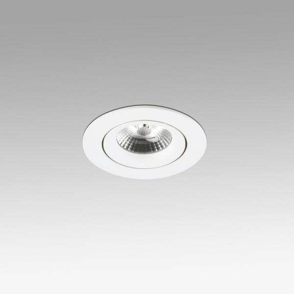 Faro Barcelona, Įleidžiamas šviestuvas NAIS White orientable recessed 7W 2700K 625lm 02111001